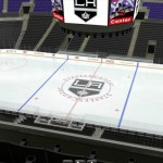 The view from my season ticket section at Staples Center.