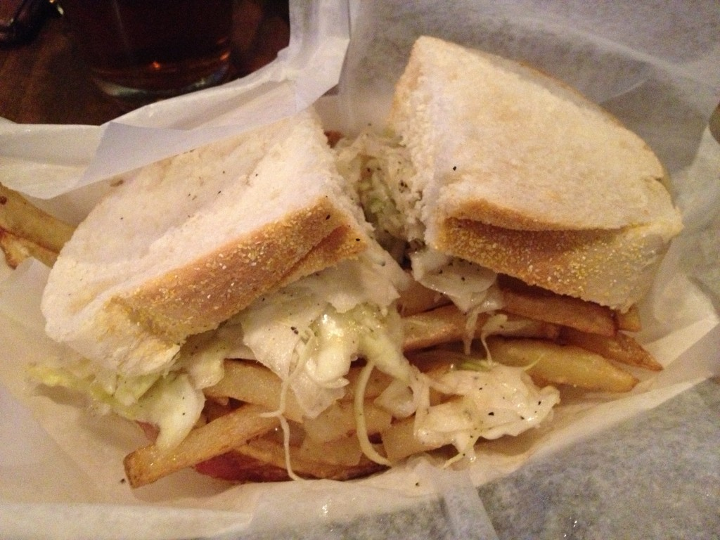 Sandwich from Primanti Bros.