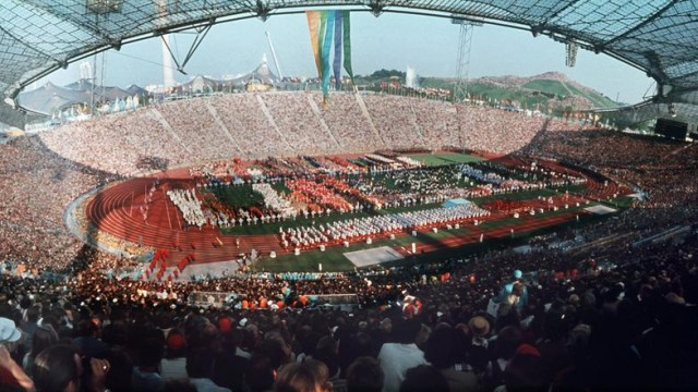 Munich Olympic Stadium 1972