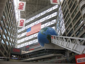 World's tallest escalator at CNN Center