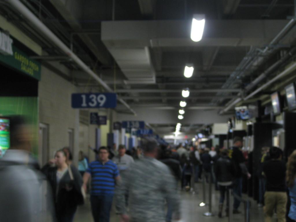 Alamodome concourse