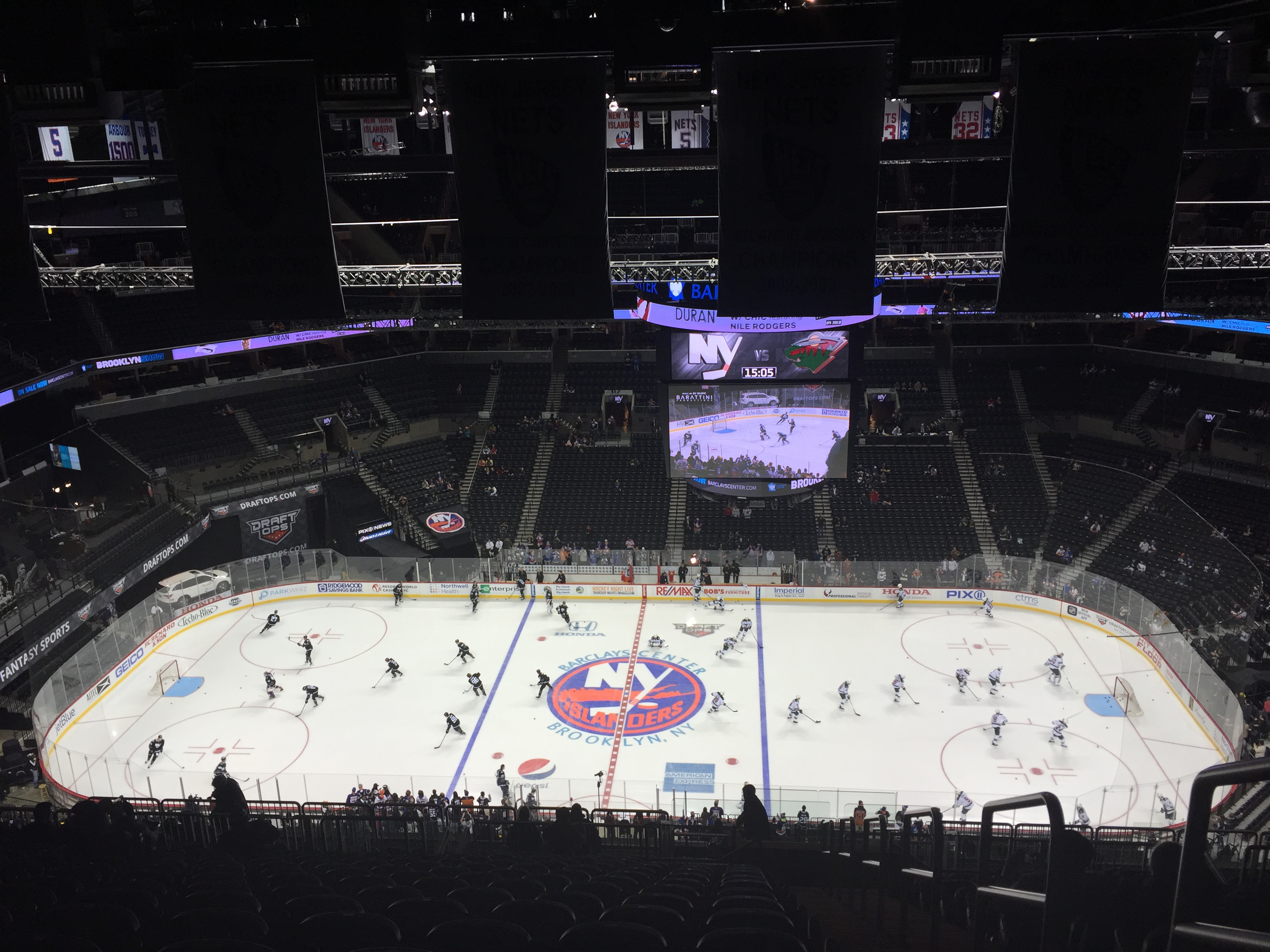Barclays Center rink