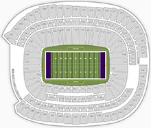 US Bank Stadium Guide Itinerant Fan - Us bank stadium concourse map