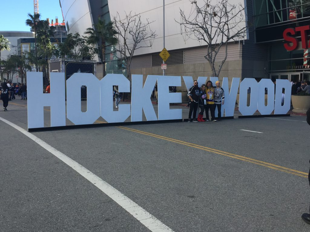 Hockeywood sign