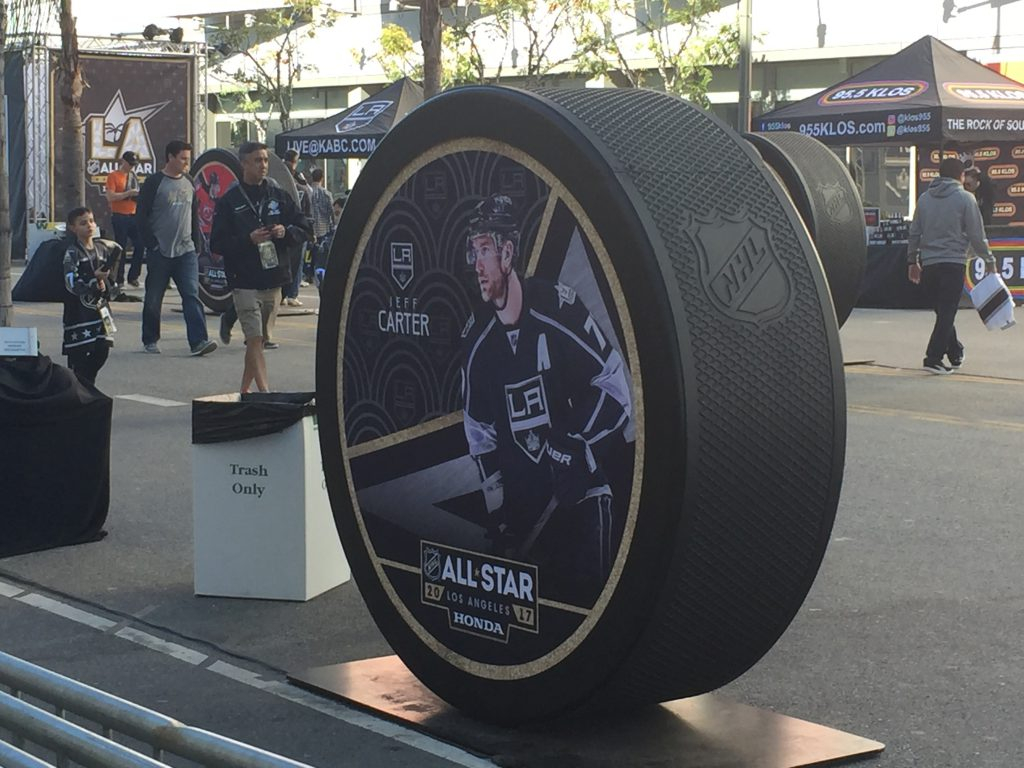 NHL All-Star Game puck
