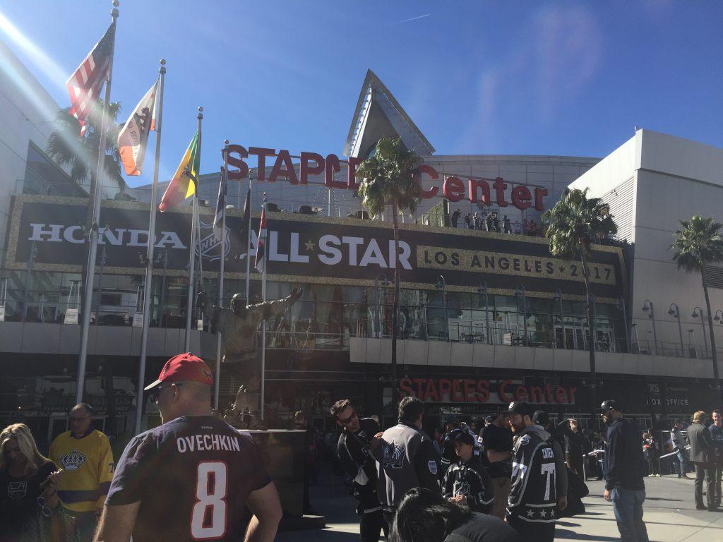 NHL All-Star gameday