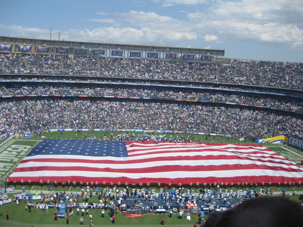 Qualcomm Stadium, during happier times