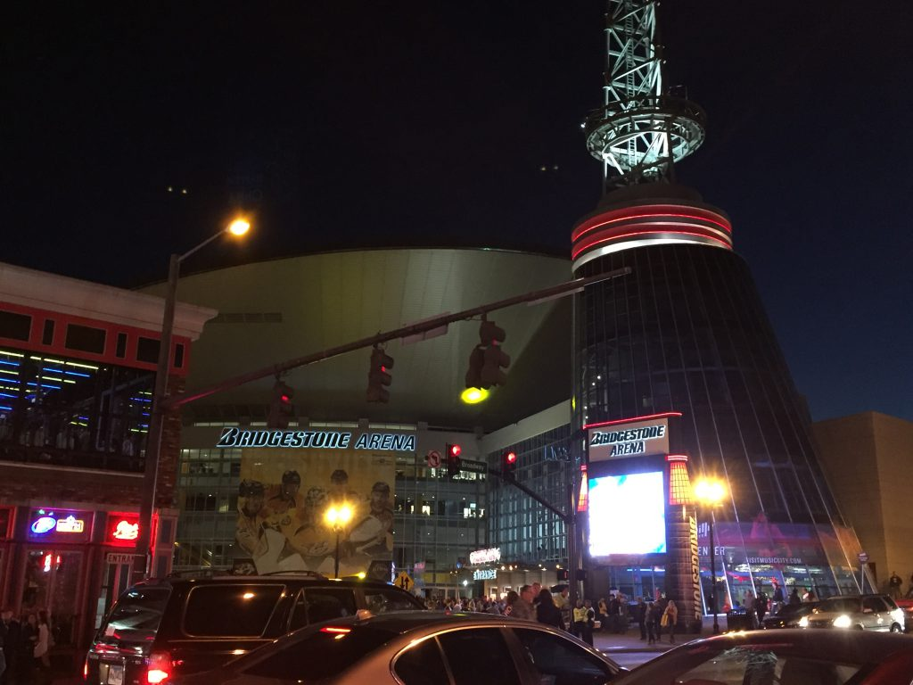 """Honky Tonk Row"" and Bridgestone Arena"