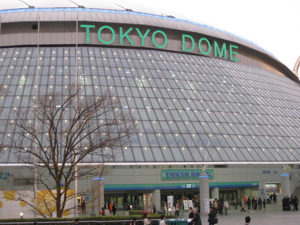 Tokyo Dome Japan League baseball