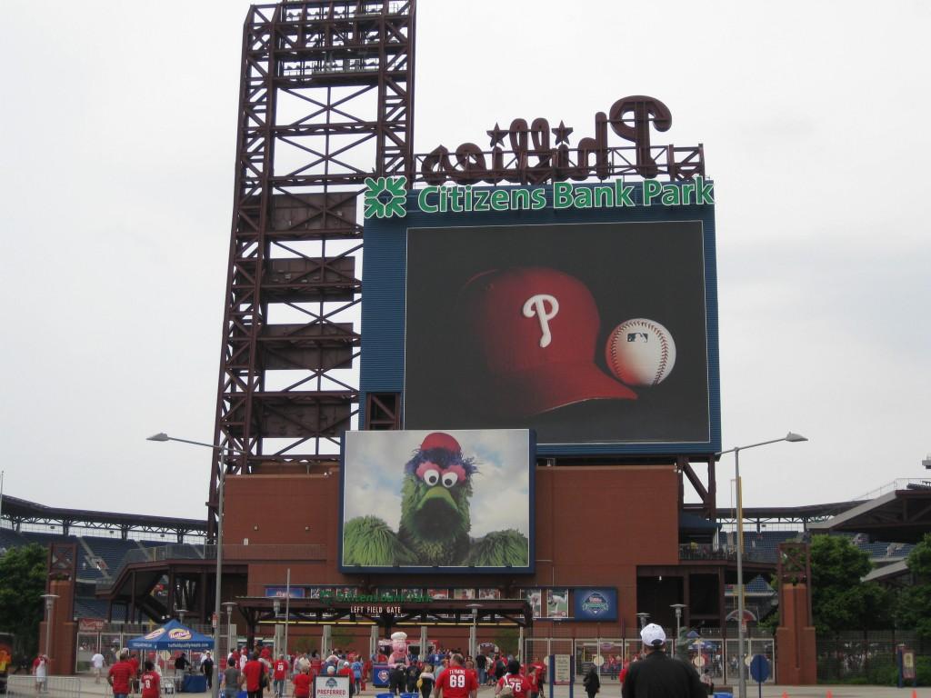 Citizens Bank Park MLB ballpark road trip ideas