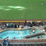 Chase Field pool