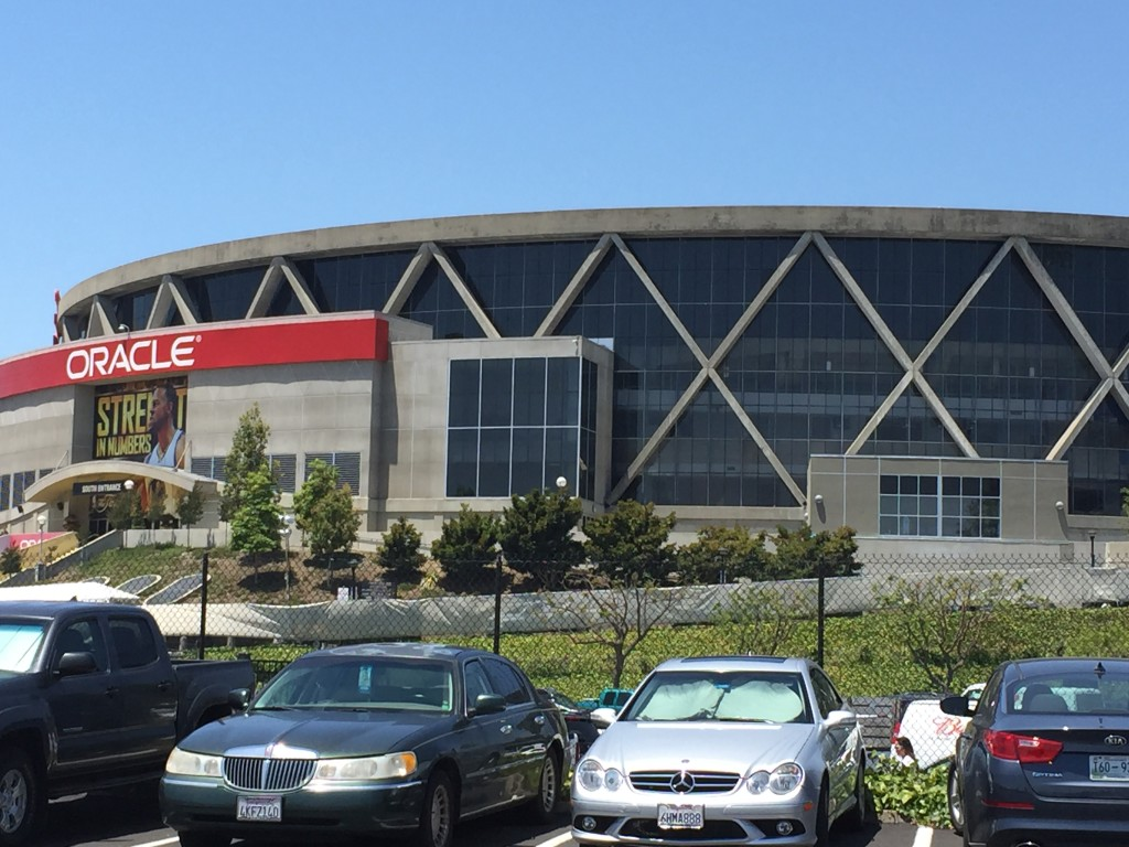 Oracle Arena exterior