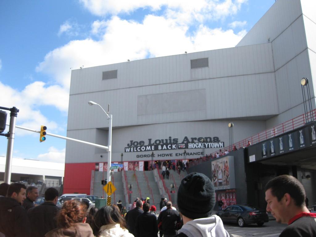 Joe Louis Arena exterior