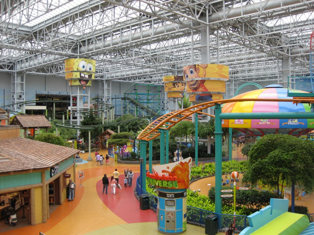 Nickelodeon Universe at the Mall of America Minneapolis sports teams travel guide
