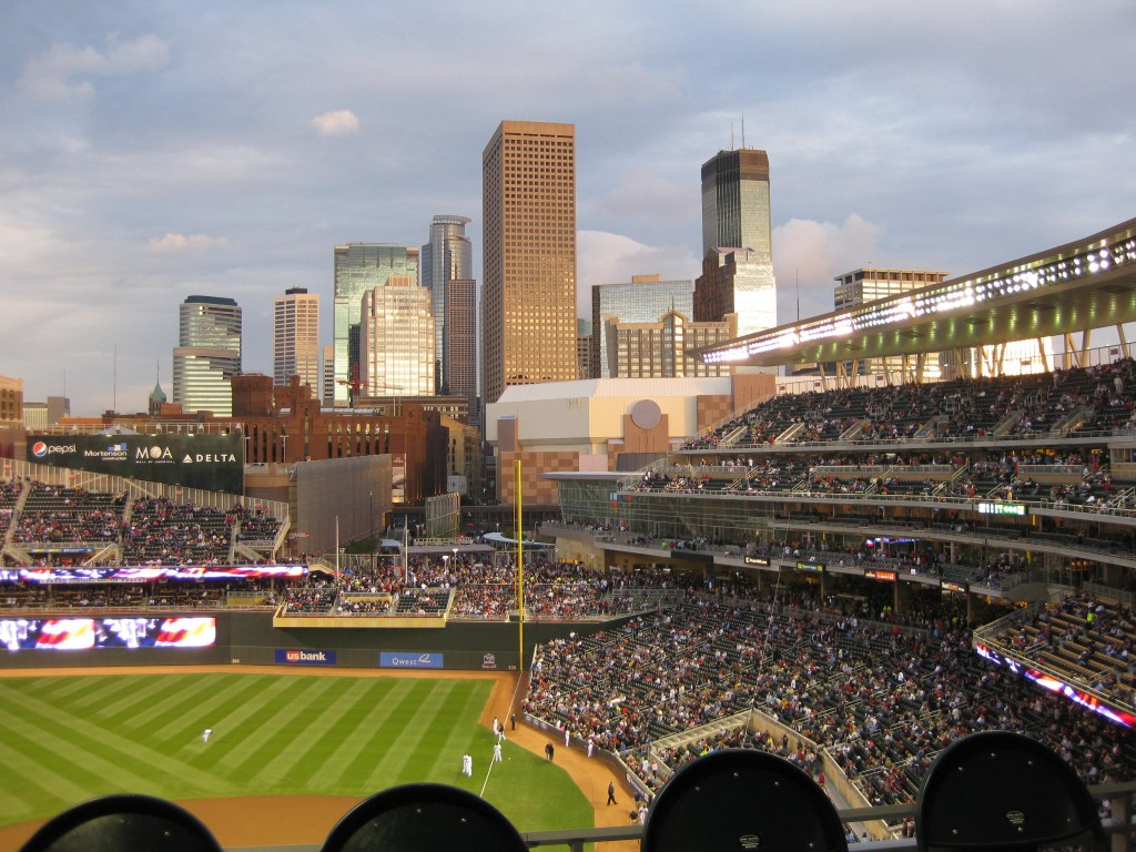 Target Field Minneapolis sports teams travel guide