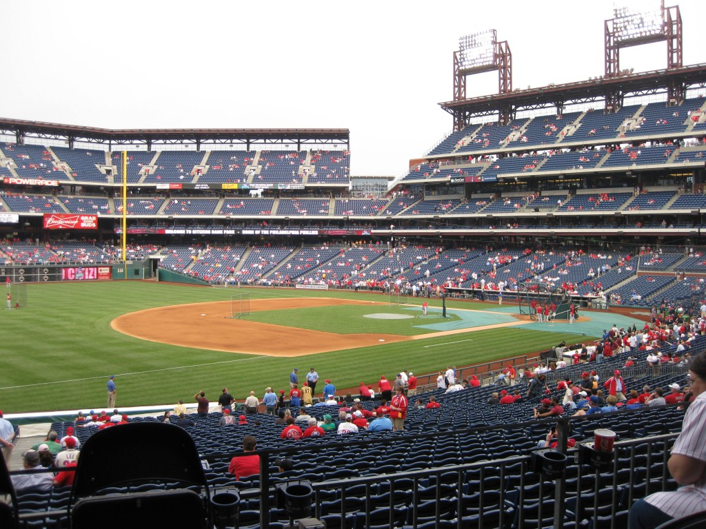 Citizens Bank Park Philadelphia sports teams travel guide