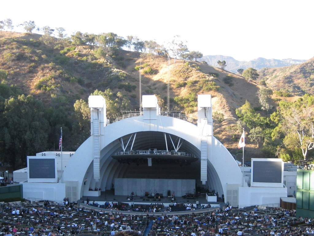 Hollywood Bowl Los Angeles sports travel