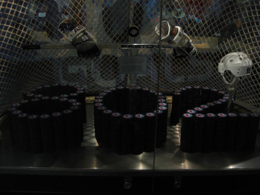 Hockey Hall of Fame display