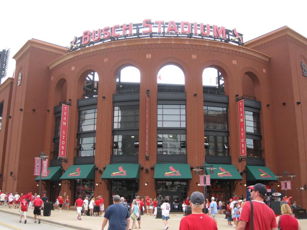 Busch Stadium St Louis Cardinals events tickets parking seating hotels food