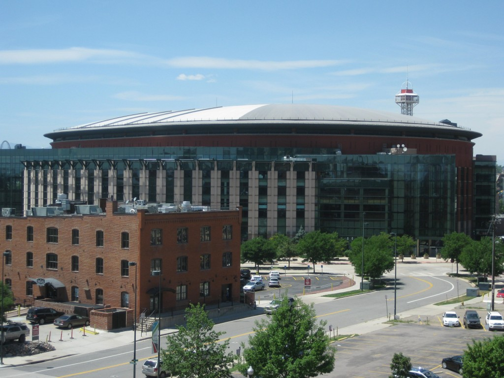 Pepsi Center Denver sports travel