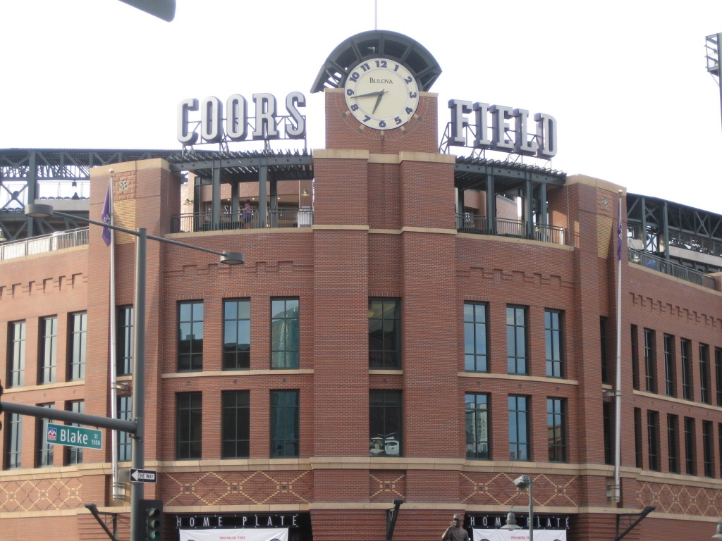 Coors Field, home of the 2021 MLB All-Star Game