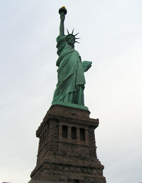 Statue of Liberty New York sports travel