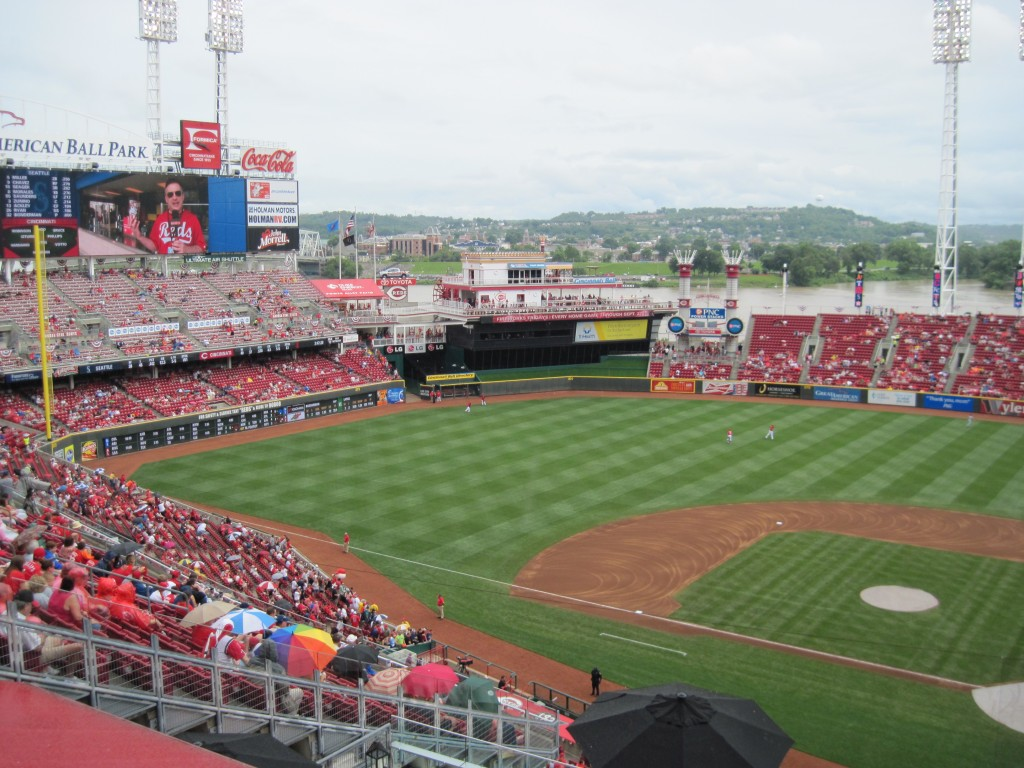 Great American Ball Park Cincinnati Reds events tickets parking hotels seating food
