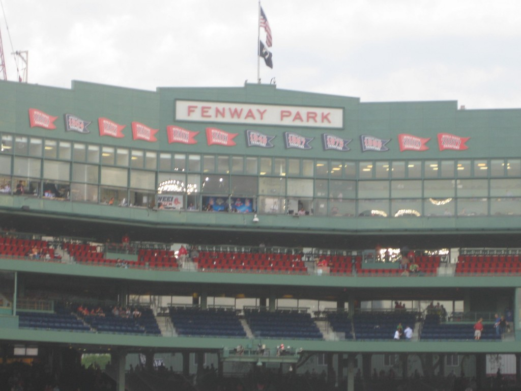 Fenway Park Boston Red Sox events tickets parking hotels seating food
