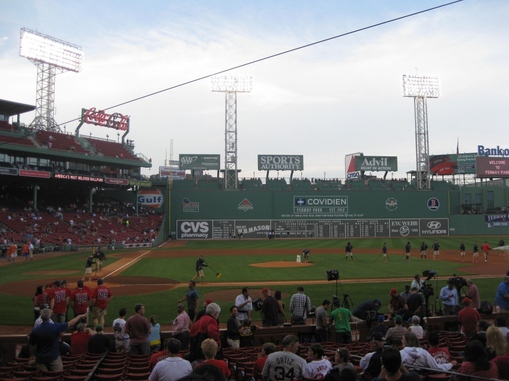 Fenway Park Boston sports travel