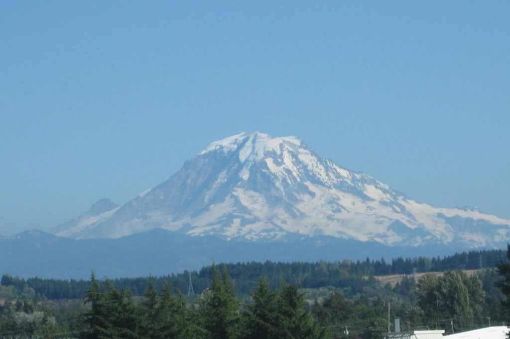 Mount Rainier Seattle sports travel