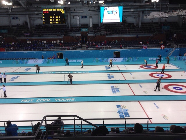2014 Winter Olympics Sochi curling