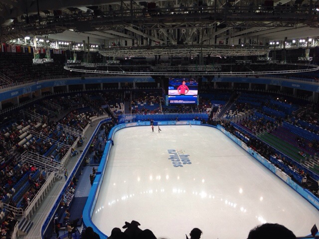 2014 Winter Olympics Sochi figure skating