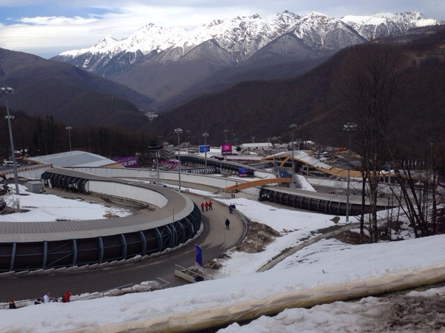2014 Winter Olympics Sochi bobsled course