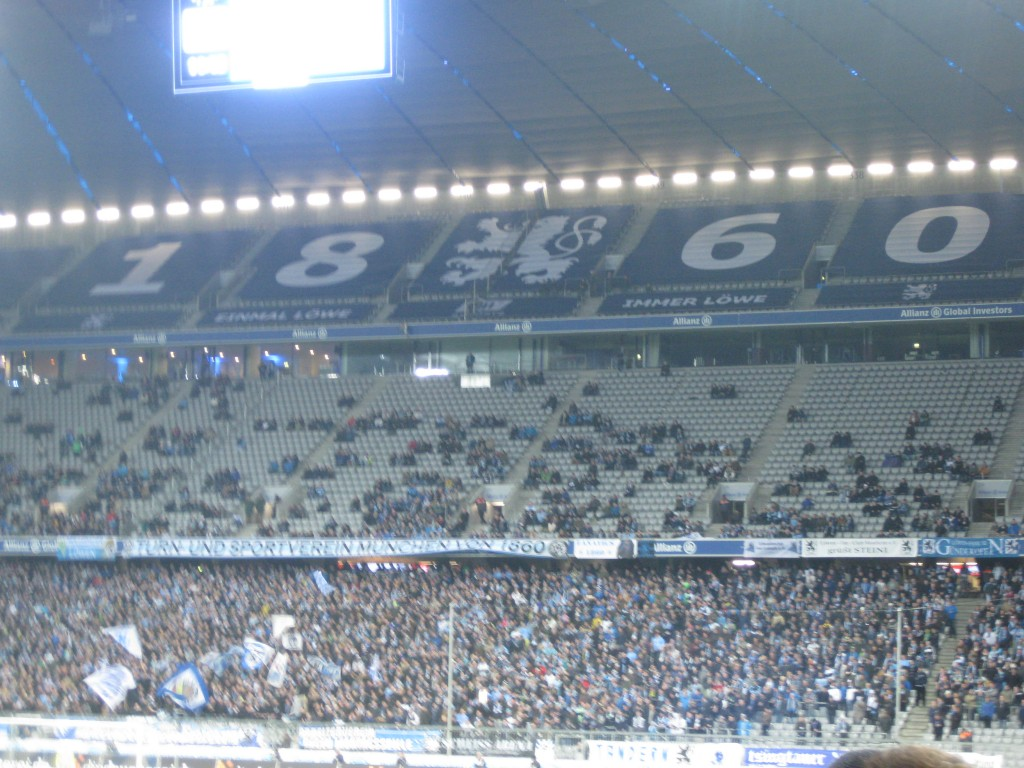 Allianz Arena rooting section