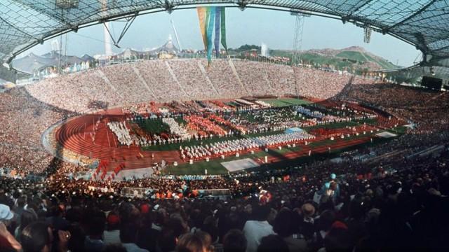 Munich Olympic Stadium 1972