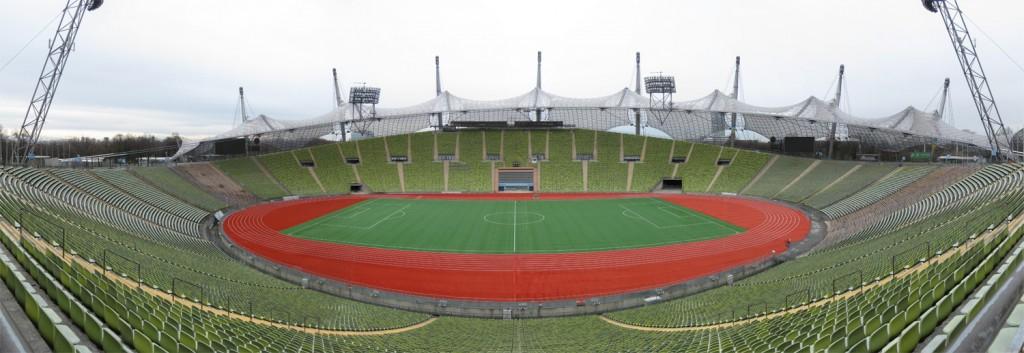 Munich Olympic Stadium panorama