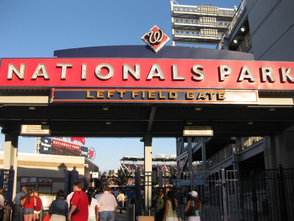 Nationals Park Washington Nationals events tickets parking hotels seating food