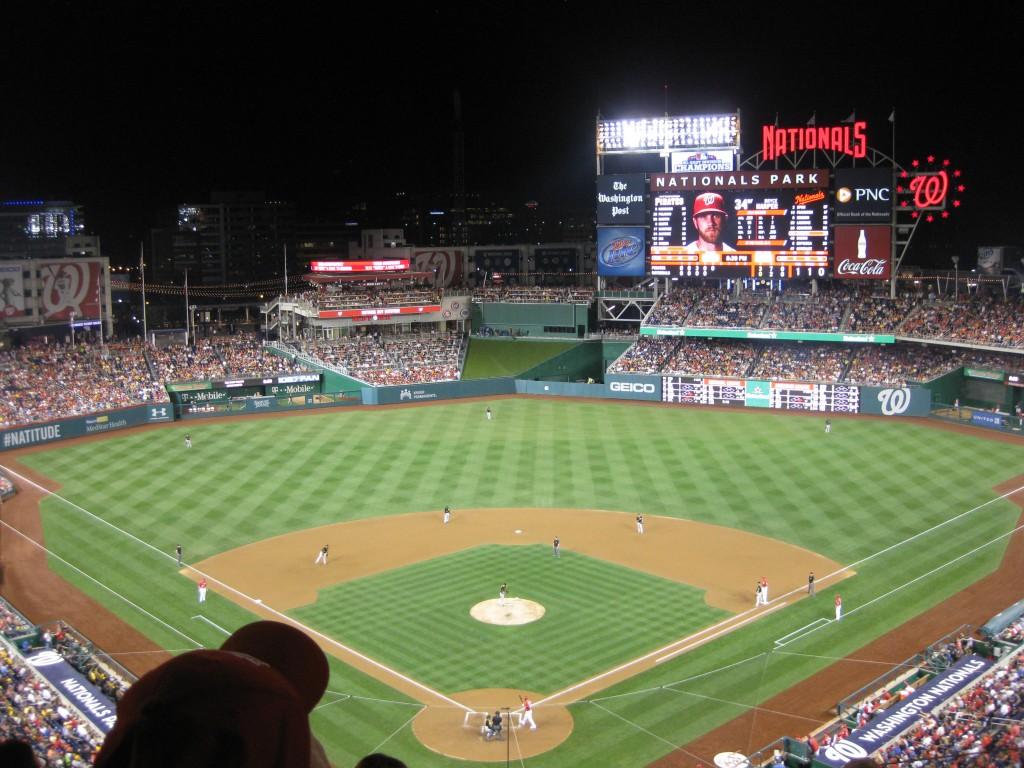 Nationals Park Washington sports teams travel guide