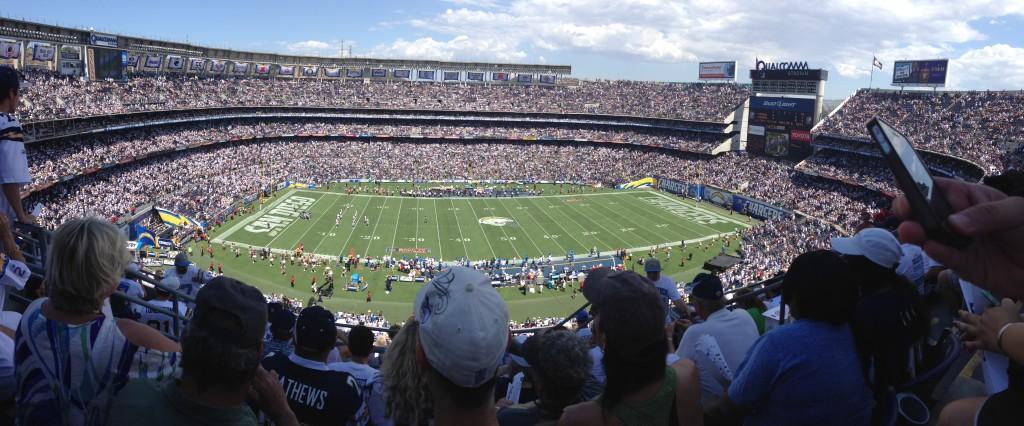 Qualcomm Stadium panorama