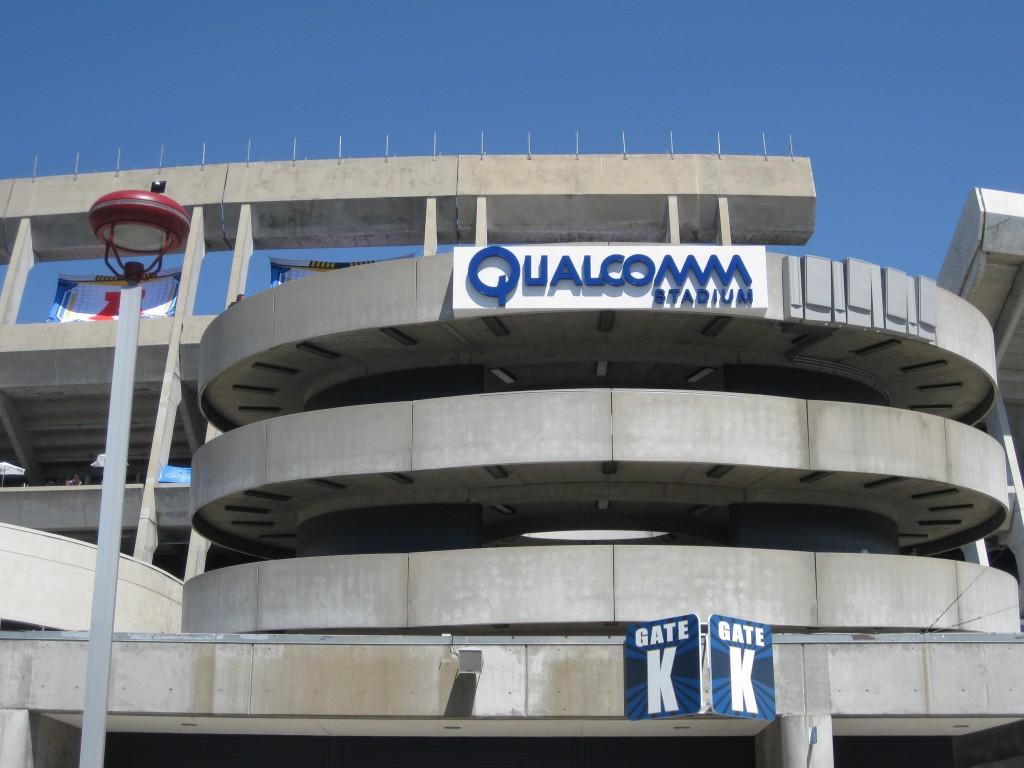 Qualcomm Stadium exterior