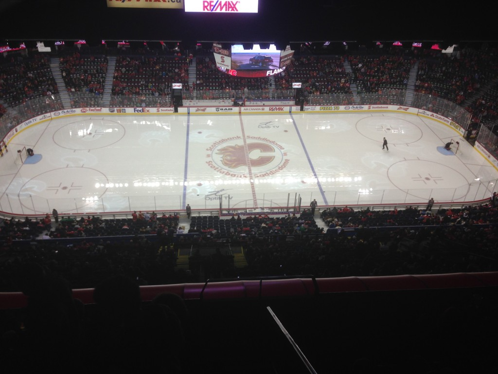 Scotiabank Saddledome Calgary Flames events tickets parking hotels seating food