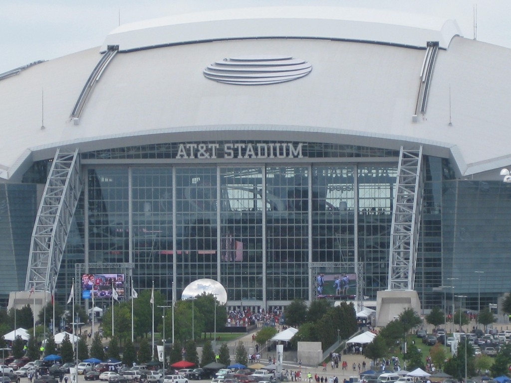 AT&T Stadium Dallas Cowboys events seating parking hotels food