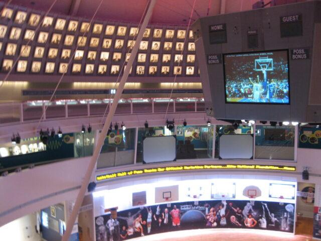 Basketball Hall of Fame dome