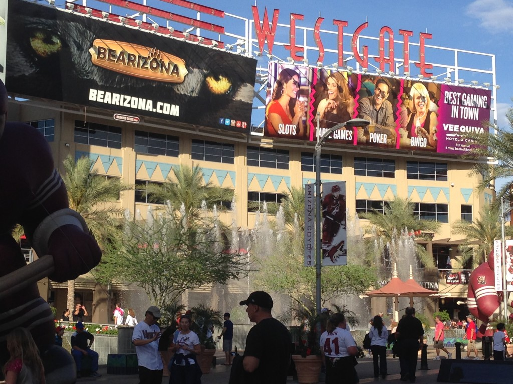 Westgate City Center Phoenix sports teams travel guide