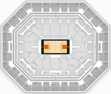 Talking Stick Resort Arena Guide Itinerant Fan - Us-airways-center-map