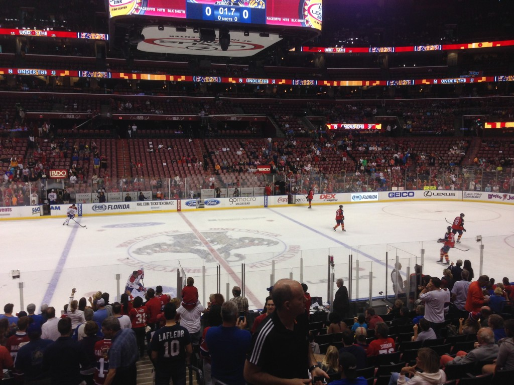BB&T Center Florida Panthers events tickets parking hotels seating food