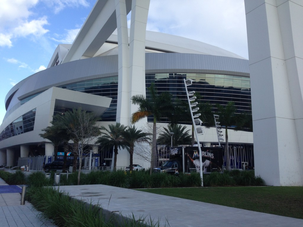 LoanDepot Park Miami Marlins events tickets parking hotels seating food