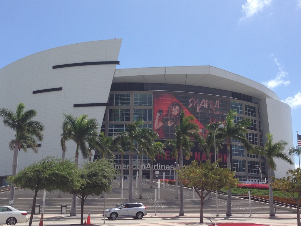 AmericanAirlines Arena NBA road trips