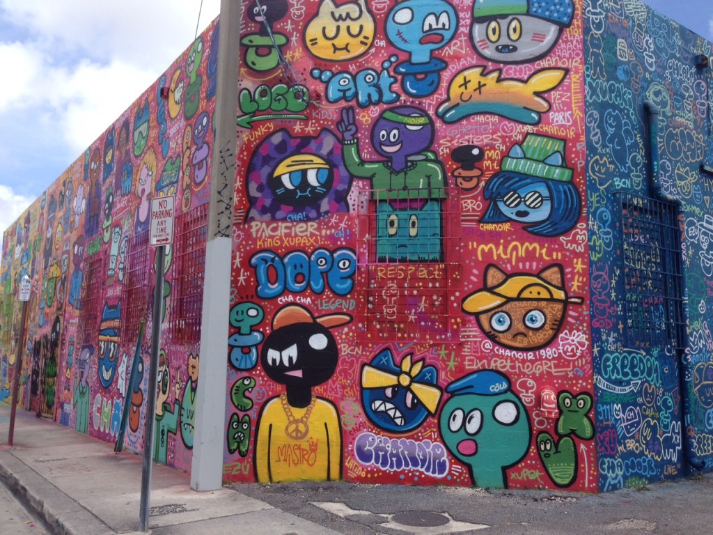 Wynwood Art District Miami sports teams travel guide