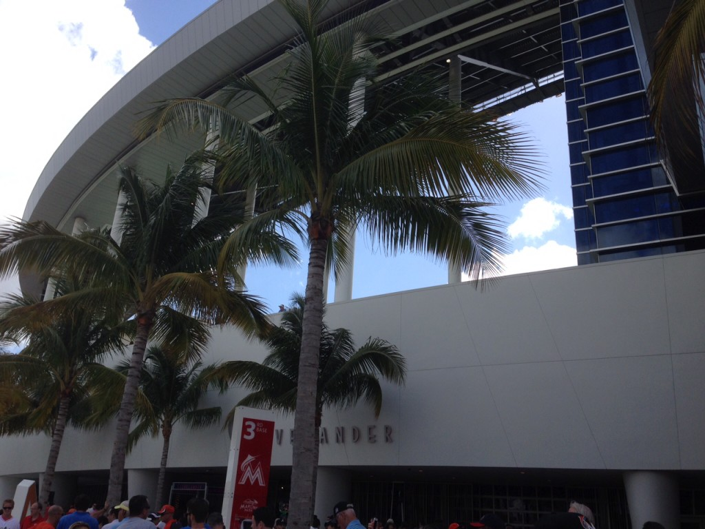 Marlins Park Miami sports teams travel guide